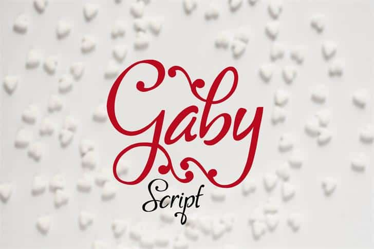 Download Gaby font (typeface)