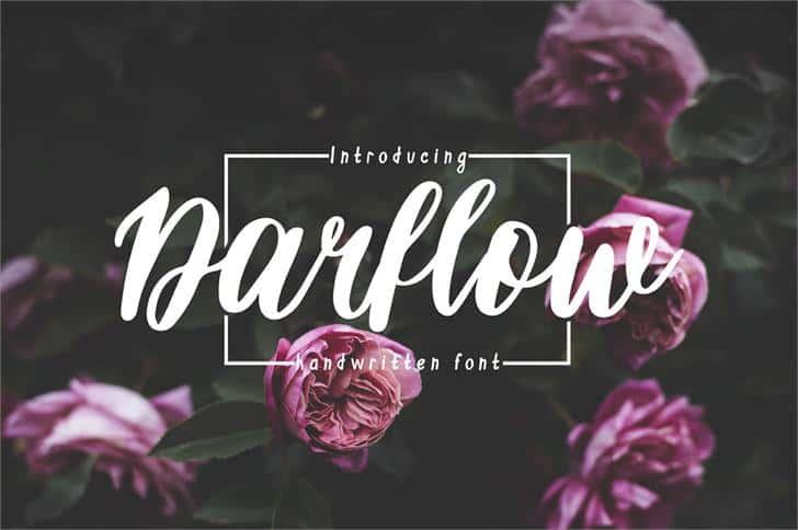 Download Darflow font (typeface)