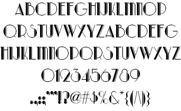 Download Park Lane font (typeface)