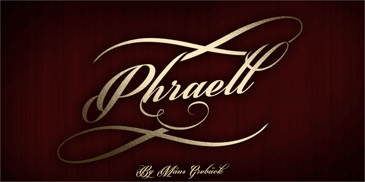Download Phraell font (typeface)