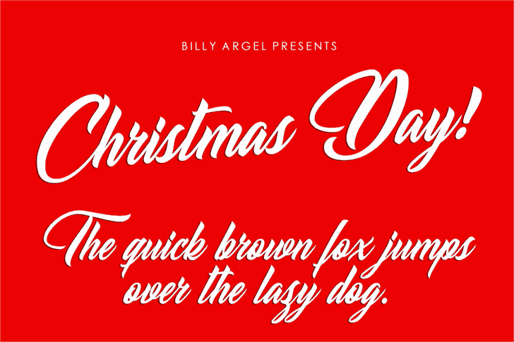 Download Christmas Day font (typeface)