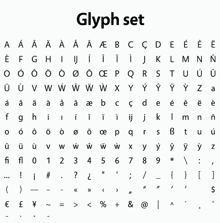 Download Vegur font (typeface)