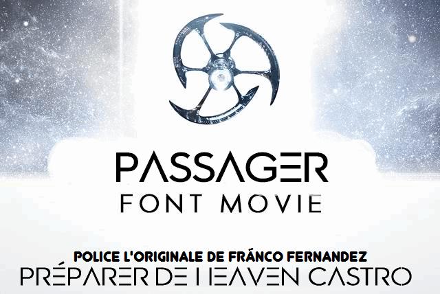 Download Passager font (typeface)