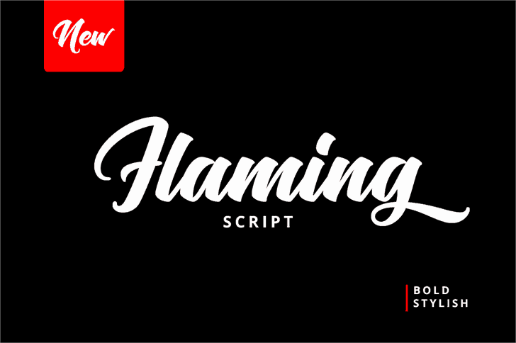 Download Flaming font (typeface)