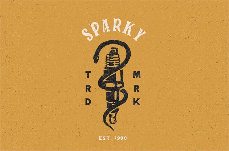 Download Spark Plug Serif font (typeface)