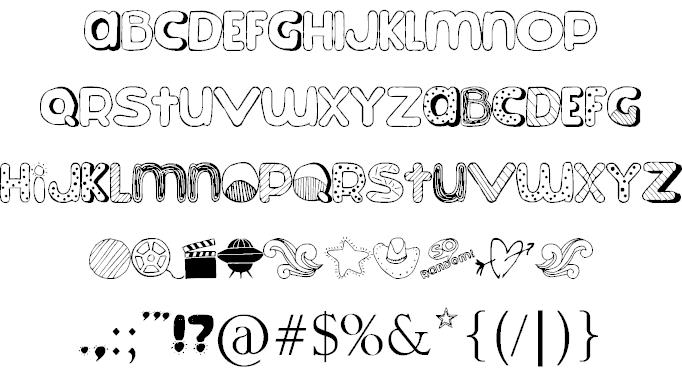 Download So Random! font (typeface)