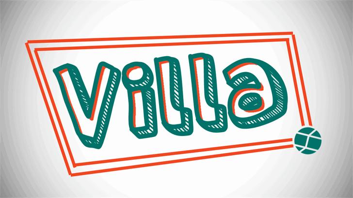 Download Villa font (typeface)