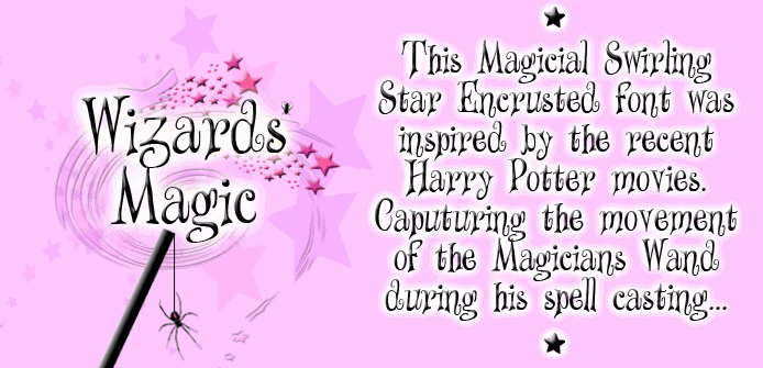 Download Wizards Magic font (typeface)