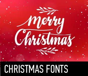 The best fonts on one site
