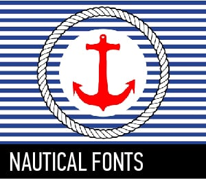 NAUTICAL FONTS