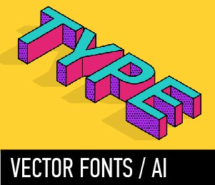 VECTOR FONTS AI